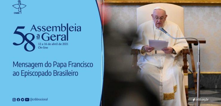 Papa Francisco envia mensagem de vídeo aos bispos na Assembleia Geral