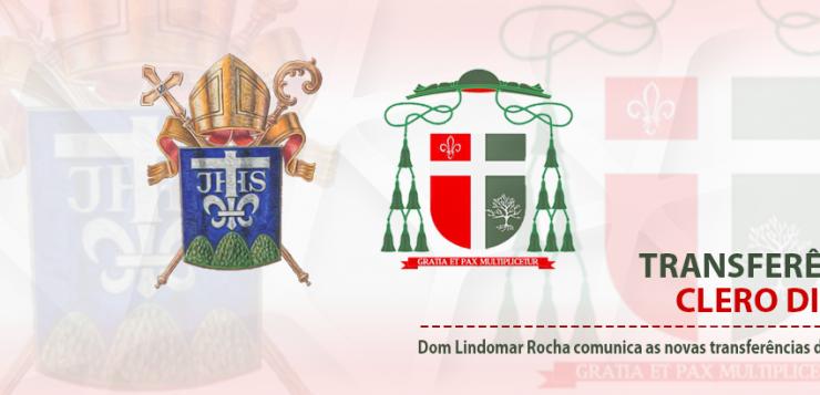 Transferências no Clero Diocesano